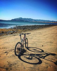 Riding a bike can be a low impact exercise or an extreme sport. Either way it's a useful tool that will help you discover new places!  Adventure by crstphr_sg #bike #biking #Baja #sport #BC #Mexico #nature #outdoors #enjoy  #healthcare
