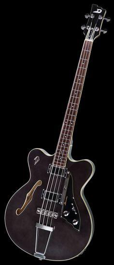 Duesenberg Guitars Fullerton Bass Black