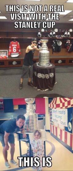 Of course Toews takes a much better picture with the cup.  JB doesn't even belong anywhere near it