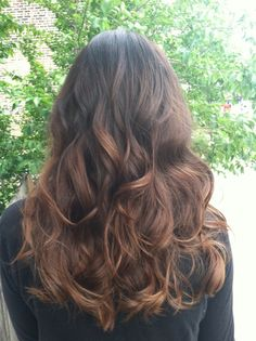#Ombre, #Ombre, #Ombre. This is my hair :).
