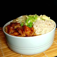 Rice Bowls, Rice Dishes, Nasi Goreng, Chana Masala, Salmon, Dessert Recipes, Food And Drink, Easy Meals, Cooking Recipes
