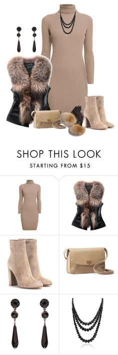 """Fur Vest"" by kimzarad1 ❤ liked on Polyvore featuring Rumour London, Gianvito Rossi, UGG Australia, Givenchy, Bling Jewelry, FRR, fur and furvest"