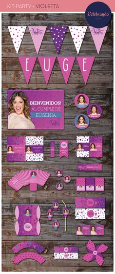 For Violetta fans very nice! 10th Birthday Parties, 7th Birthday, Happy Birthday, Art N Craft, Partys, Birthdays, Chula, Ideas Party, Business