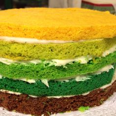 San Patrik Day cake