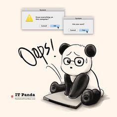 IT Panda – Panda and Polar Bear