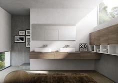 mobilier de salle de bain , bois, inspiration living, MY TIME chez IDEA GROUP