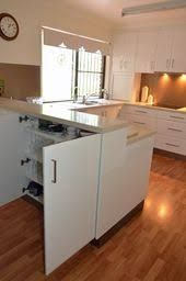 Inspiring U Shaped Kitchen Remodel Ideas. If you are looking for U Shaped Kitchen Remodel Ideas, You come to the right place. Ikea Kitchen Design, Kitchen Nook, Kitchen Layout, Interior Design Kitchen, Kitchen Decor, Kitchen Designs, Kitchen Cabinets, Küchen In U Form, Kitchen Floor Plans