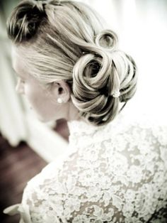 Wedding Hairstyles: 25 Hot Wedding Hairstyles A Retro Updo – The Knot