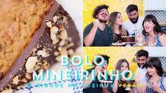 BOLO MINEIRINHO de AMENDOIM feat. O Chef e A Chata | VERÃO | O Bigode na Cozinha 27 #ICKFD - YouTube