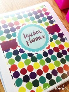 A Modern Teacher Bugs Planner - A fresh, functional, and fabulous Teacher Binder to keep you organized! from www.amodernteacher.com $