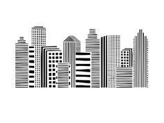 Click to see 'Linear Cityscape' on Minted.com