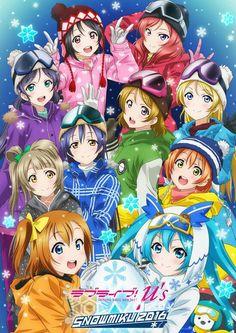 Anime Day 5: Should I be ashamed that I enjoyed Love Live? Probably yes xD
