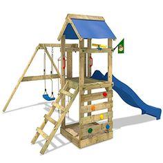 WICKEY Spielturm FreeFlyer Kletterturm mit Rutsche Schauk... https://www.amazon.de/dp/B00BPRD2CA/ref=cm_sw_r_pi_dp_x_8Jr0yb54A3DA7
