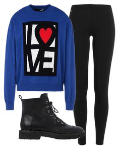 """L♡VE"" by kyrstenann17 ❤ liked on Polyvore featuring Polo Ralph Lauren, Love Moschino and Giuseppe Zanotti"