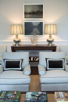 Elegant Home Interiors - Ken Gemes - Living Room