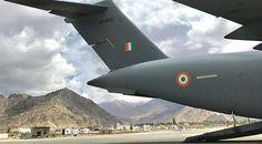 RAAF Globemaster visits India
