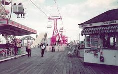 The Pier at Clacton-On-Sea Essex England in 1982