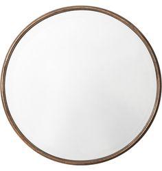Large Round Mirror Pierro