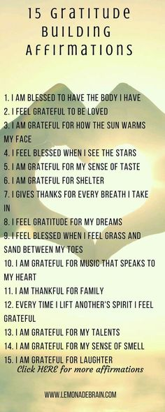Great affirmations