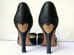 DIY: Des chaussures coeur numéro 2 (easy!)