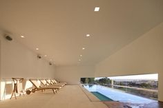 now that's an indoor pool!