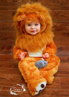 Just adorable baby lion with mouse! So cute - thanks Suzanne!  sc 1 st  Pinterest & cutest ever. baby lion costume | baby | Pinterest | Baby lion ...