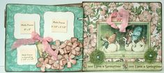 """INTRODUCING:  Exclusive Hens' Den, """"Chic Albums""""    """" CLASSY CHIC """"    Classy Chic  - measures 7.5 x 6.5  $7.49     Total of 9 pages: ..."""