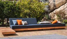 Modular outdoor sofa \