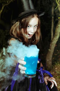 Drinks with dry ice