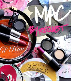 The MAC By Request Collection Eye Shadows and Lipsticks, circa April 2014