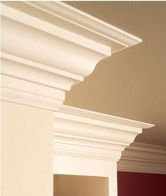 Increase the beauty and value of your home with crown molding. Learn how to install crown molding on your own with these easy steps. Home Improvement Projects, Home Projects, Home Improvement, Remodel, Home Remodeling, Home Decor, Home Renovation, Moldings And Trim, Trim Carpentry