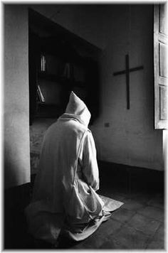 Paradise Of Monks, black and white photography, religious photography
