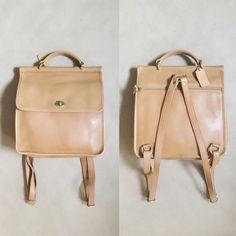 RARE Coach Willis Backpack Vintage Putty Coach Backpack by Leftbank Modern Vintage