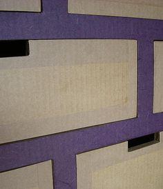Finitions meubles en carton