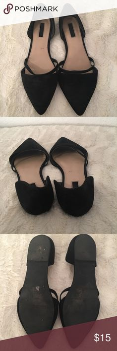 Cute F21 flats! Super cute Forever 21 Flats size 10 but they are a bit narrow Forever 21 Shoes Flats & Loafers