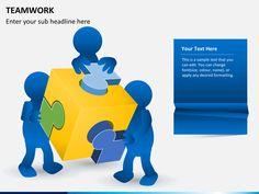 Teamwork powerpoint template teamwork template and business teamwork powerpoint template toneelgroepblik Images