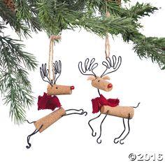 Reindeer Christmas Ornaments