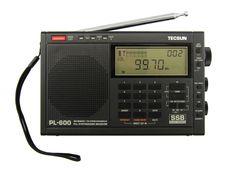 Tecsun PL-600 SSB PLL World Band Radio Receiver FM/MW/SW  << BLACK >> #Tecsun