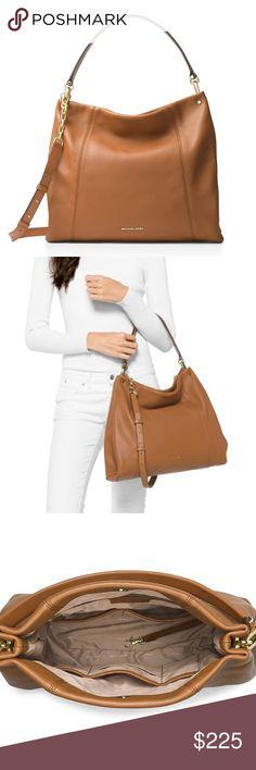 d289b51348 Michael Kors Lex Leather Convertible Hobo Bag NWT Michael Kors Lex Large  Leather Convertible Hobo Bag