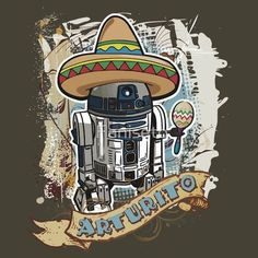 "Actually, I was surprised to hear that a lot of people in Costa Rica actually call R2-D2 ""Arturito""!"