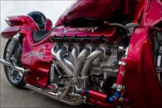 Boss Hoss ZZ4 Viper - Engine