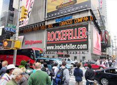 Valla New York, Rockefeller España.