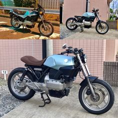 """Mi piace"": 56, commenti: 4 - Akiyuki Inoue (@outloud.moto) su Instagram: ""一応#beforeandafter 次はタンク塗装^_^ #k75c #bmwcaferacer #caferacer #outloudmotorcycle #k100"""