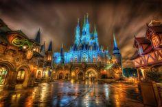 Click to rate A Rainy Night in the Magic Kingdom; Marc Perrella