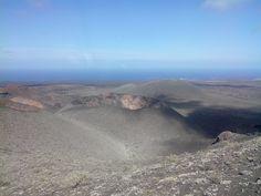 Un volcan éteint.