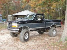 me and my ford pickup | just join tell me what u think about my truck 8inchs of lift 36 super ...