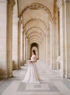 Elegant French Fine Art Bridal Style https://heyweddinglady.com/french-couture-bridal-style-paris-elopement/  #wedding #weddings #weddingideas #fineartweddings #filmphotography #couture #fashion #bride #bridals #weddingdress #weddingstyle #bridalfashion #galialahav #paris #france #travel #destinationwedding
