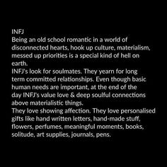 It seems I will never have my soul mate because as it turns out my husband is not, his personality does not connect that way. What's an INFJ to do? Rarest Personality Type, Infj Personality, Myers Briggs Personality Types, Personality Characteristics, Personality Psychology, Infj Mbti, Intj And Infj, Enfj, Infj Traits