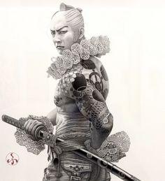 彌月風太朗 Futaro Mitsuki |Pencil/paper Drawing - ArtPeople.Net