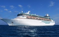 Cruise #1 August 2007 Honeymoon Cruise Royal Caribbean Majesty of the Sea